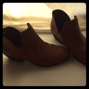 Faded Glory Faux Leather Booties